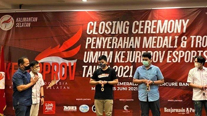 Bank Kalsel Dukung Potensi Atlet Esports Banua di Ajang Kejurprov ESI 2021
