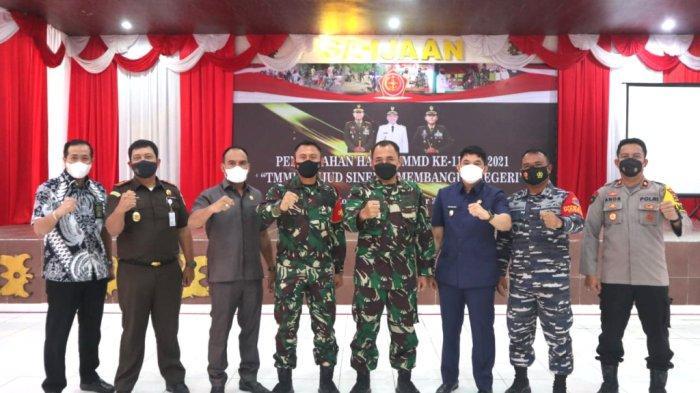 TMMD ke 112 Ditutup, Wakil Bupati Kotabaru: Warga Harus Menjaga dan Merawat