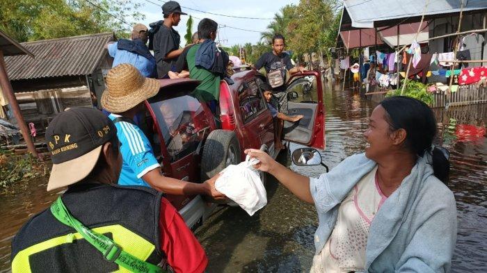 Jumlah Pengungsi Banjir Kalsel Meningkat, Kalak BPBD Kalsel Sebut Tambahan dari Batola