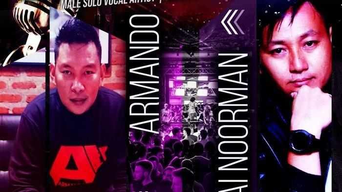 Penyanyi Kalsel Armando Live Bersama Penyanyi Malaysia Lai Noorman