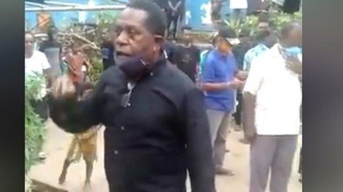 VIRAL Video Edo Kondologit Mengamuk Adik Iparnya Tewas di Tahanan, Kasus Pemerkosaan Nenek 70 Tahun