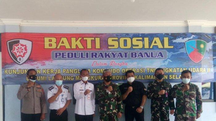 BPN Tanahlaut Serahkan Sertifikasi Tanah Aset Milik TNI
