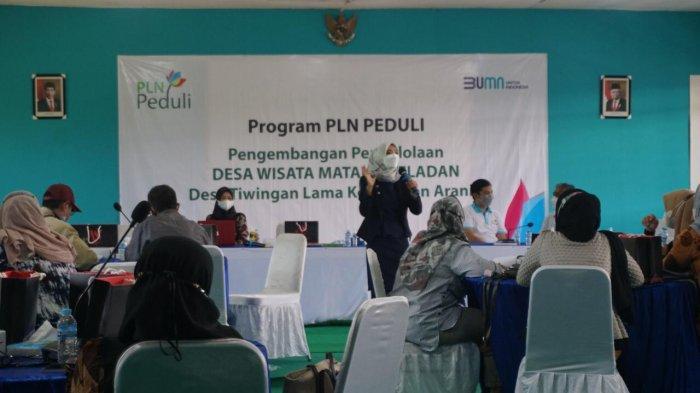 Program PLN PEDULI, Pelatihan Pengembangan Pengelolaan Desa Wisata Tiwingan Lama Kabupaten Banjar