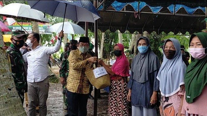 TMMD ke-112 di Rantau Kaminting, Dandim 1002 : Walau Cuaca Tak Menentu Kami Bertekad Target Selesai