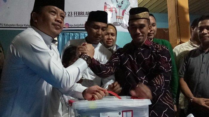 Berkas Dukungan Tak Lengkap, KPUD Banjar Kembalikan Berkas Mada-Ferry
