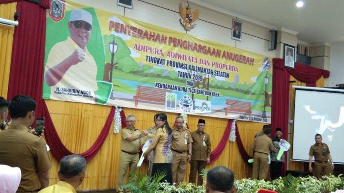 Tabalong Terima Adipura Tingkat Provinsi Kalsel, 11 Sekolah Juga Raih Adiwiyata