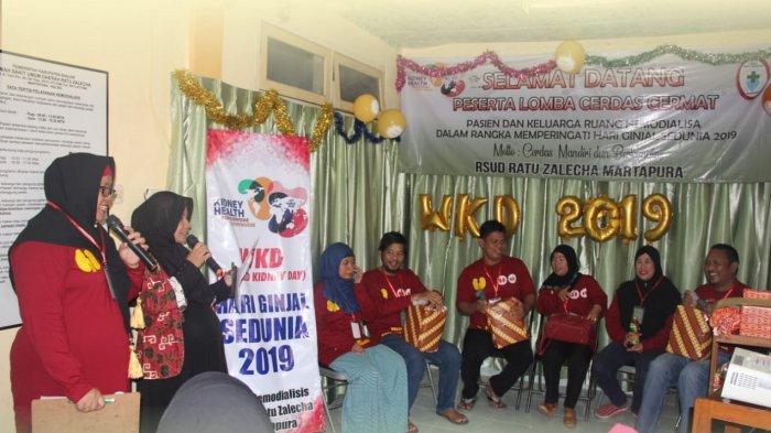 RS Ratu Zalecha Berusaha Tingkatkan Fasilitas Bagi Pasien Hemodialisa, Gelar Cerdas Cermat