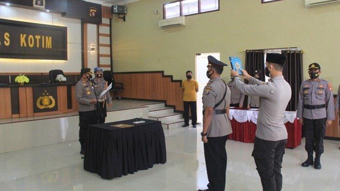 Polres Kotim Kalteng Tingkatkan Sub Sektor Sebabi Jadi Polsek Telawang