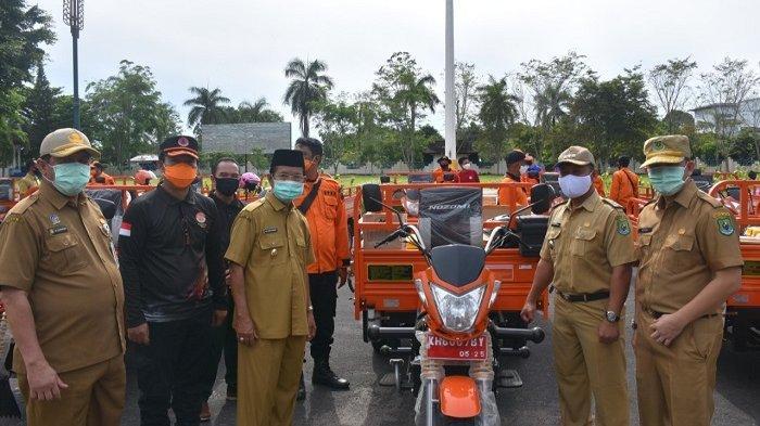 Hadapi Ancaman Karhutla, 17 Kecamatan di Kapuas Dilengkapi Kendaraan Roda Tiga dan Alat Pemadam