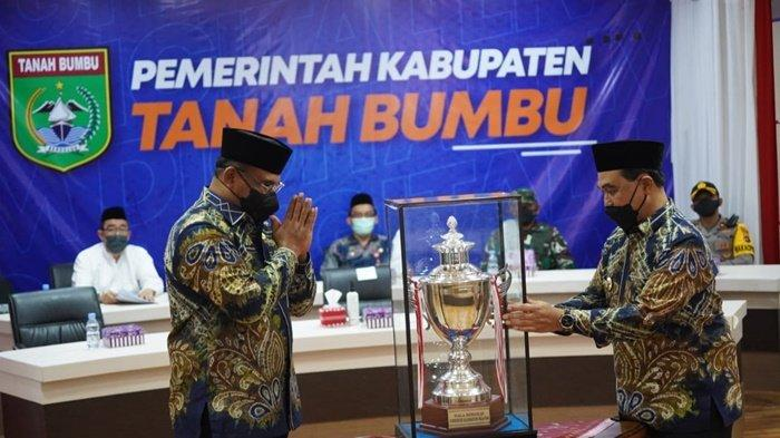 Pj Gubernur Kalsel Safrizal Doakan Kalsel Juara Umum MTQ Nasional 2022