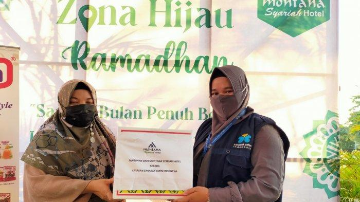 Launching Zona Hijau Ramadhan, Montana Syariah Hotel Banjarbaru Bagi Takjil