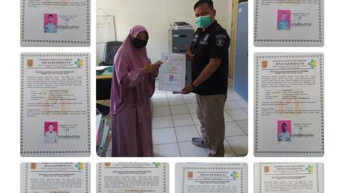 Petugas Lapas Banjarbaru Dapat Sertifikat Hygiene Sanitasi Jasaboga