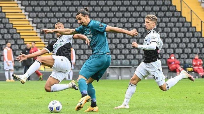 Sederet Masalah AC Milan saat Kontra Udinese di Liga Italia, Krisis Pemain Hantui Pioli