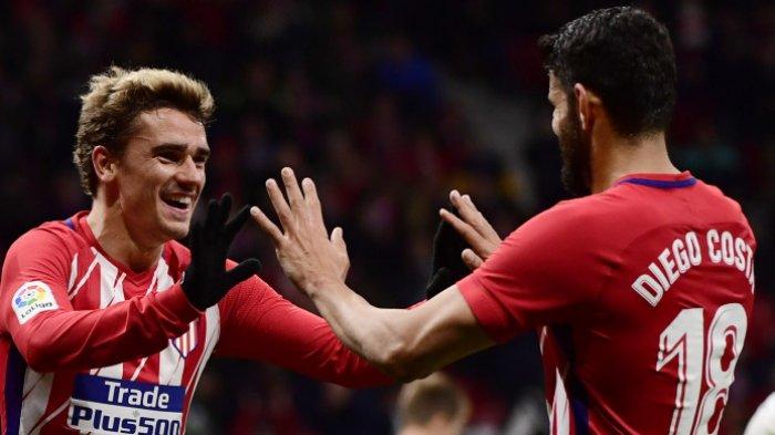 Rekan Duet Pergi ke Barcelona, Diego Costa Sebut Griezmann Harus Mencoba Hal Baru
