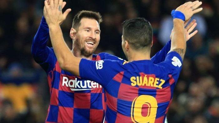 Prediksi & Susunan Pemain Barcelona vs Atletico Liga Spanyol Live Bein Sports1, Reuni Messi & Suarez
