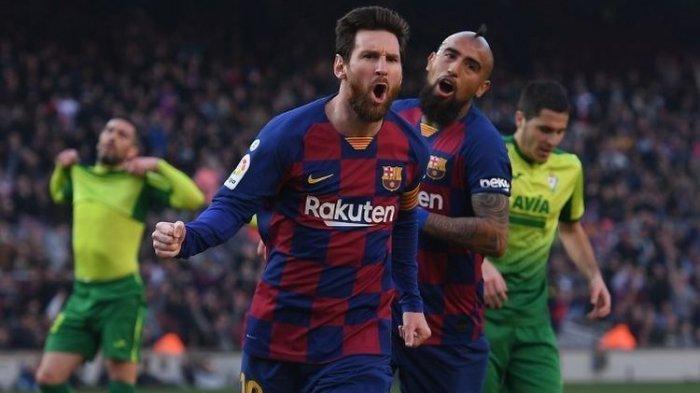 Jadwal Liga Champions Barcelona vs Napoli yang Live SCTV Terimbas Virus Corona, UEFA Rancang Ini