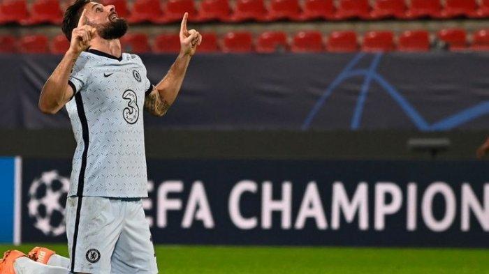 Olivier Giroud Perbarui Kontrak dengan Chelsea, AC Milan Masih Berpeluang di Bursa Transfer
