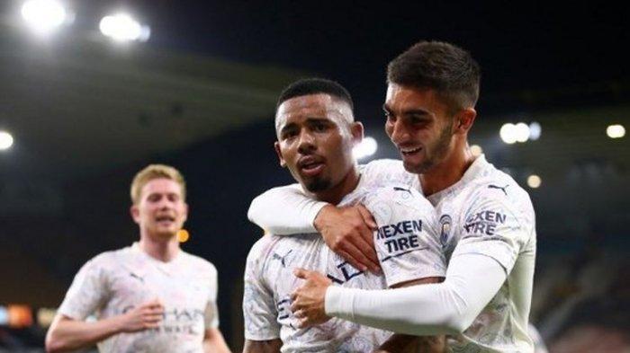 Line Up & Link Tottenham vs Man City, Streaming TV Online Mola & Net TV, Ferran Torres Main