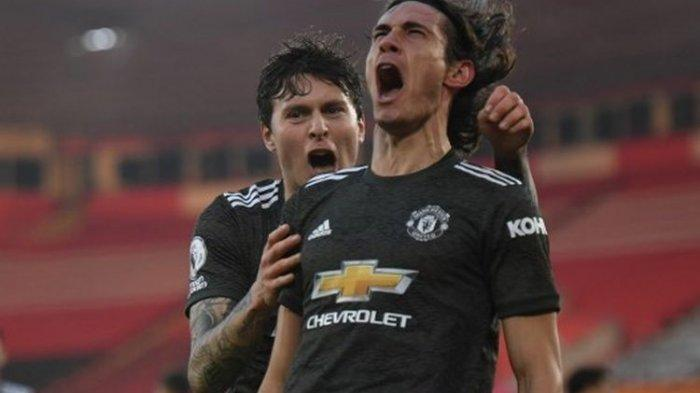 Prediksi & Live Streaming SCTV Granada vs Man United di TV Online Liga Eropa, Cavani Main
