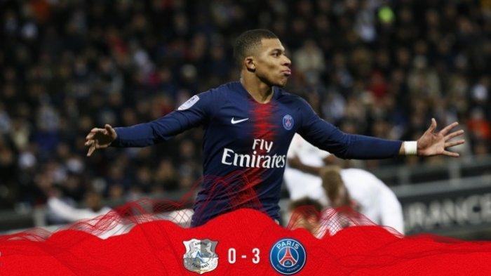 Hasil Liga Prancis 2019 - Kylian Mbappe Jadi Bintang Lapangan, Paris Saint-Germain Pun Ngebut