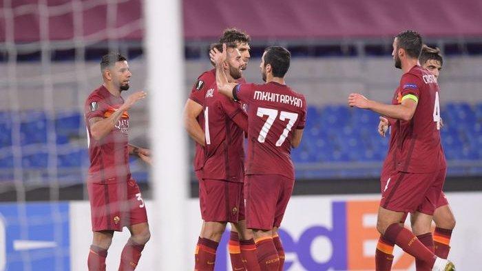 Prediksi & Live Streaming AS Roma vs Ajax di Link TV Online Liga Eropa Malam Ini, Edin Dzeko Main