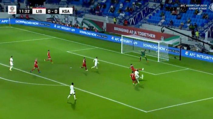 Hasil Piala Asia 2019 - Irak dan Arab Saudi ke 16 Besar, Diwarnai Gol Tendangan Geledek