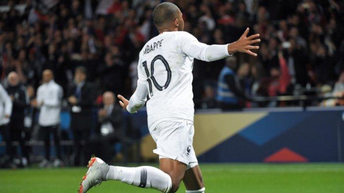 Dari Semua Legenda Prancis, Ternyata Kylian Mbappe Pencetak 10 Gol Tercepat