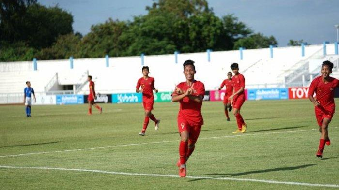 Jadwal Siaran Langsung SCTV Timnas U-15 Indonesia vs Filipina Piala AFF U-15 2019, Rotasi Pemain