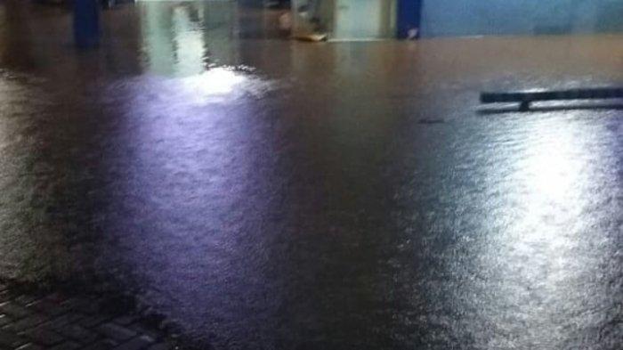 Panel Zona Zamp Terendam Banjir, PDAM Intan Banjar Matikan Air