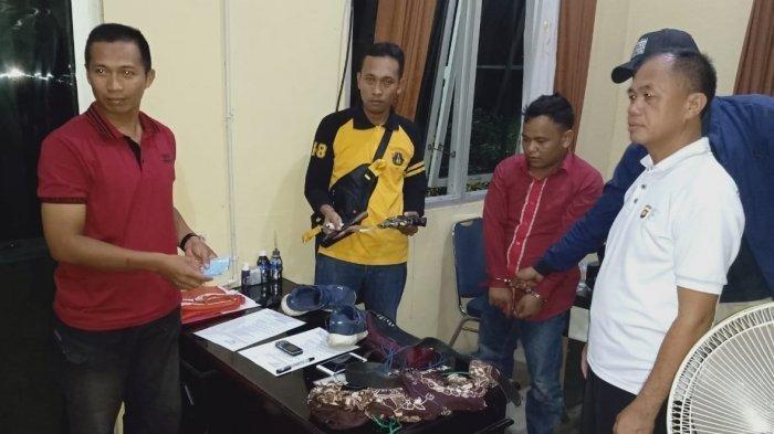 Perampok Mobil Rental di Palembang Ditangkap, Polisi Sita 1 Pistol Revolver dan Amunisi