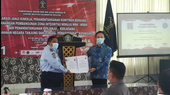 Perangi Narkotika, BNNK Tabalong Jalin Kerjasama dengan Rutan dan Lapas Tanjung