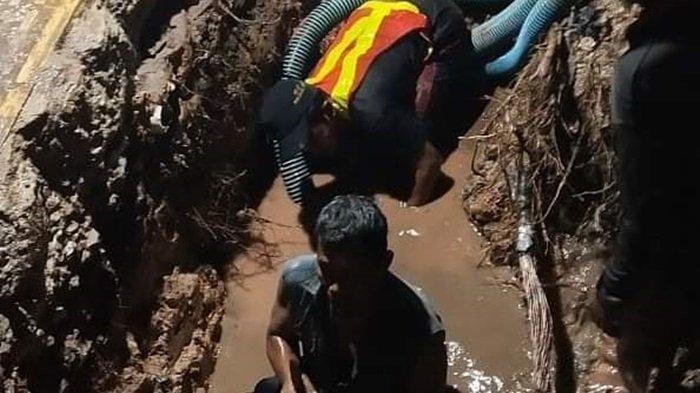 Perbaikan Pipa Emergency PDAM Bandarmasih, Distribusi Air di Banjarmasin Utara Disetop Enam Jam