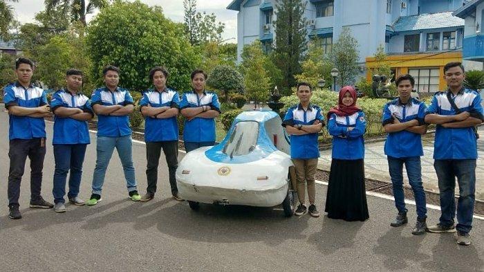 Peran Perempuan Asal Balangan di Wasaka Team ULM yang Melahirkan Mobil Hemat Energi.