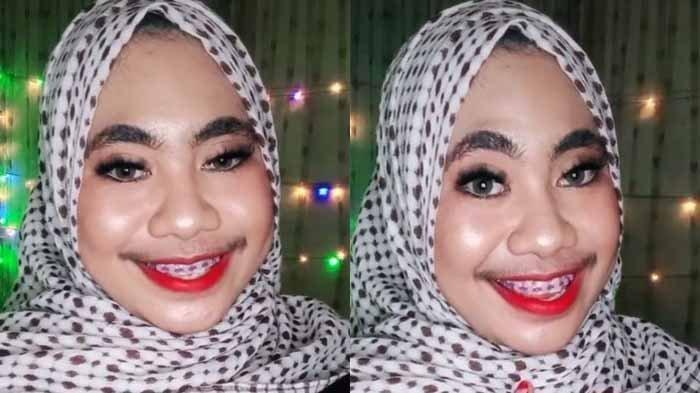 Perempuan Berkumis Tebal Ini Viral di Tiktok, Sempat Dikira Laki-laki Padahal Wanita Asli