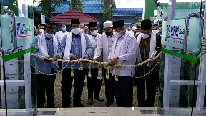 SMKN 3 Banjarmasin Resmikan Hotel Borneo Syariah, Pelanggan Bisa Pesan Lewat Aplikasi