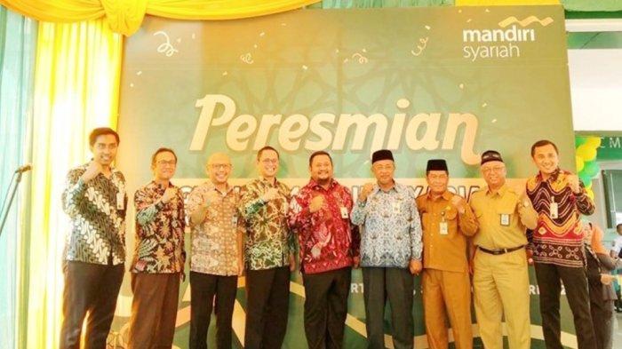 Peresmian Kantor Baru Bank Mandiri Syariah Cabang Martapura, Lebih Besar dan Modern