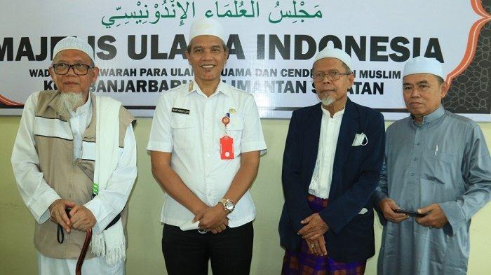 Peresmian Kantor Sekretariat MUI Kota Banjarbaru, Kalimantan Selatan, Rabu (13/10/2021).