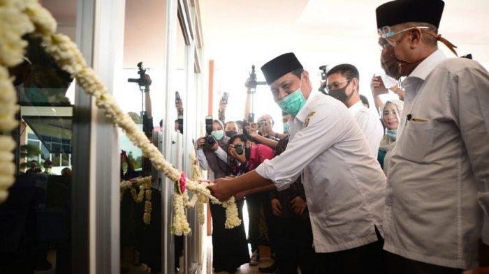 Gubernur Kalsel Resmikan Gedung Baru Uniska di Handil Bakti Kecamatan Alalak Kabupaten Batola