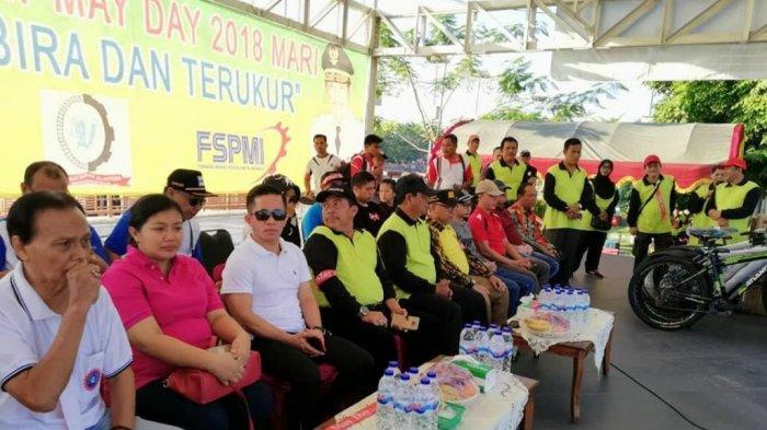 Mayday 2018: Peringatan Hari Buruh di Siring, Pekerja Minta Ubah PP 78 Tahun 2015