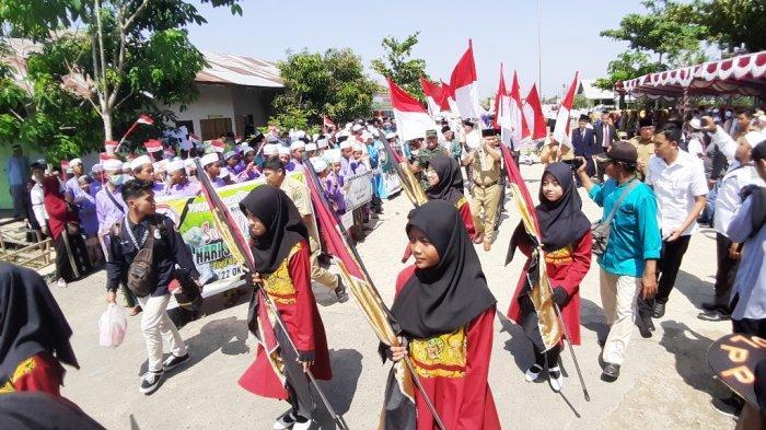 Hari Santri Nasional di Kabupaten Kapuas, Ribuan Santri Ikuti Apel dan Kirab