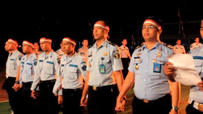 Sumpah pemuda di Lapas Banjarbaru, Renungan Suci api unggun hingga Salat berjamaah