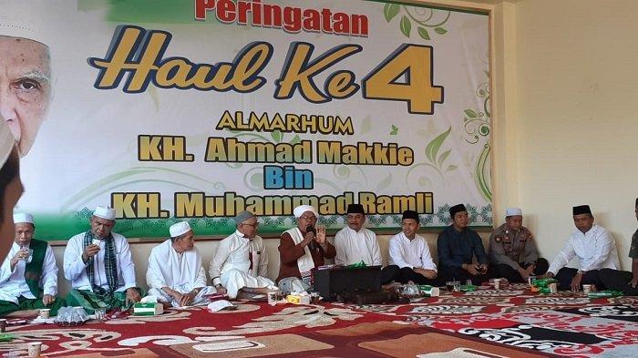 Haul ke-4 KH Ahmad Makkie Digelar di Lok Besar, Ini Harapan Keluarga