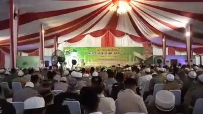 peringatan Nuzulul Quran di halaman polda kalsel