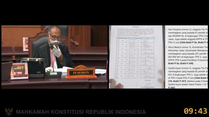 Sidang Perdana PHPU PSU Pilgub Kalsel, Kuasa Hukum H2D Bacakan 7 Dalil Permohonan