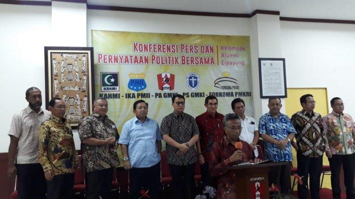 Alumni Kelompok Cipayung : Hormati Hasil Pemilu 2019, Rakyat Jangan Terprovokasi