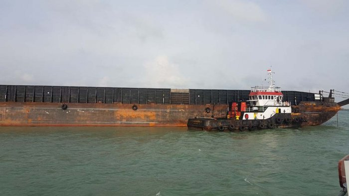 Empat Perompak Satroni Tugboat PenariK Tongkang Batu Bara di Karimun, Juru Mudi Luka Parah