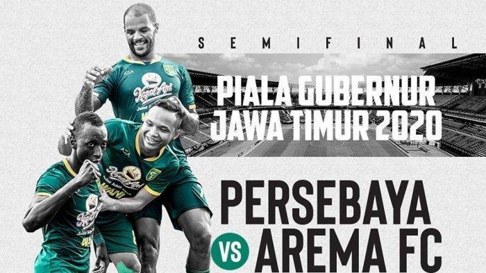 SKOR 4-2! Hasil Persebaya vs Arema FC di Babak Kedua Piala Gubernur Jatim, Lawan Persija di Final