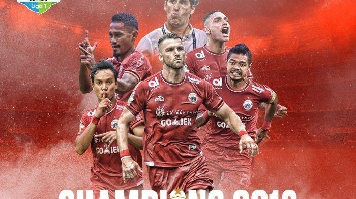Cerita Dibalik Kemenangan Persija Jakarta di Juara Liga 1 2018, Penantian 17 Tahun