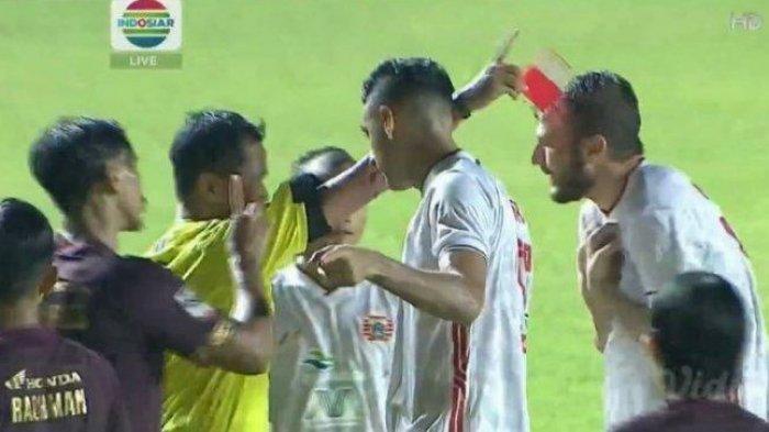 Hasil Liga 1 - Yann Motta Buat Persija Ungguli PSS Sleman, Skor 0-1 di Babak Pertama