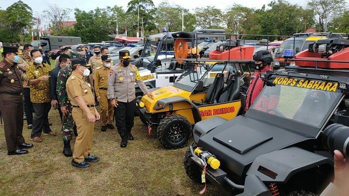 Jelang Kemarau, Kalteng Siagakan Personel dan Peralatan Pemadam Kebakaran Lahan dan Hutan